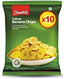 Chheda's Yellow Banana chips, 10 x 50 gm