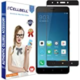 CELLBELL® Xiaomi Redmi Note 4/4X (FULL GLUE)(EDGE TO EDGE)(BLACK) Tempered Glass Screen Protector With FREE Installation Kit