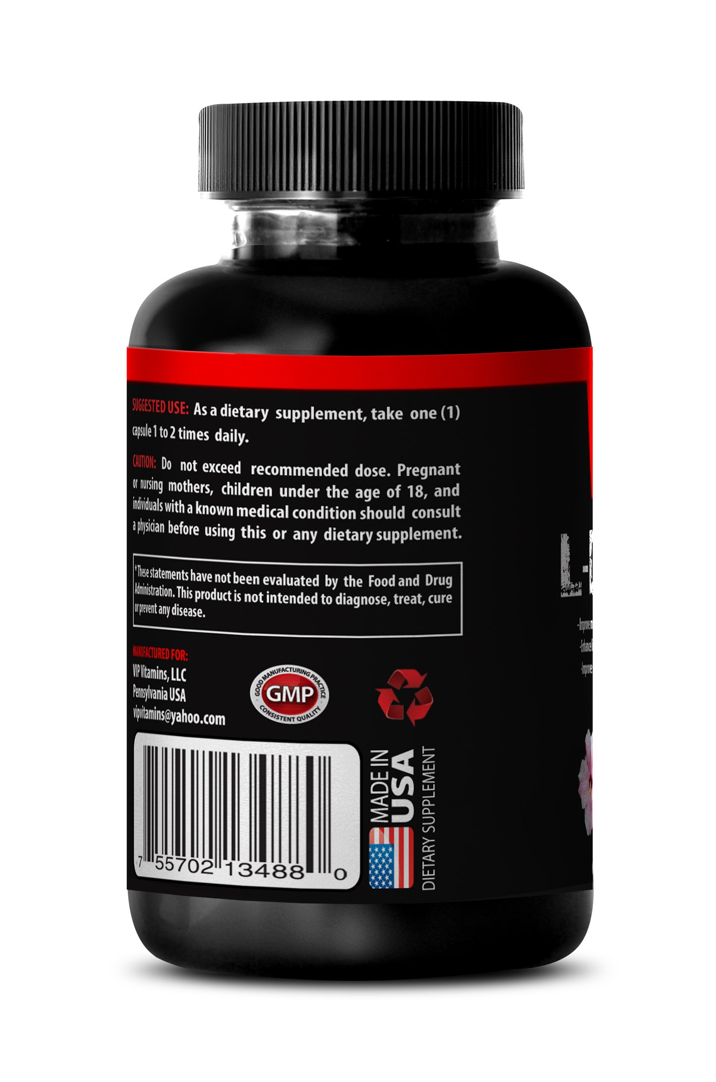 Macuna Pruriens L-Dopa Powder - Mucuna Pruriens Extract (6 bottles 360 capsules) by VIP VITAMINS (Image #3)