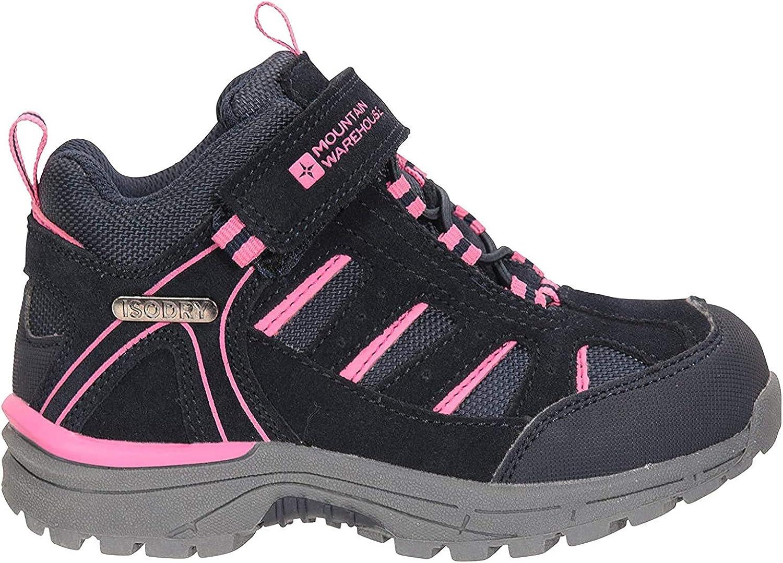 Mountain Warehouse Drift Junior Kids Hiking Boots Waterproof Shoes