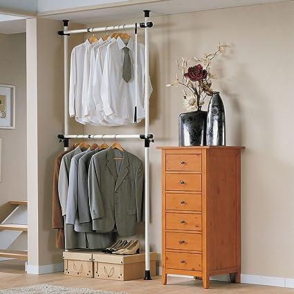 Haotian Garment Rack, Freestanding Closet,Clothes Drying Rack, Clothes Rack,  Storage Shelving