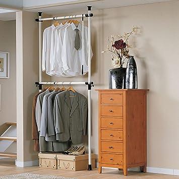 Haotian Garment Rack, Freestanding Closet ,Clothes Drying Rack, Clothes Rack,  Storage Shelving