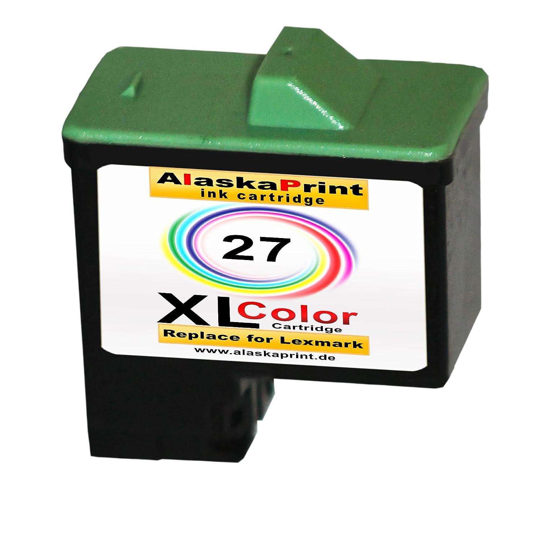 1 x tinta para para impresoras Lexmark 1 x 27 XL Original alask ...