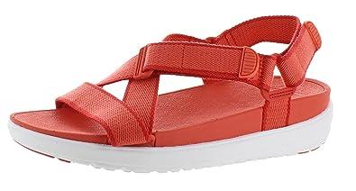 cb232dfa1d355b FitFlop Women s Sling Sandal II Hot Coral Shell Pink 9 ...