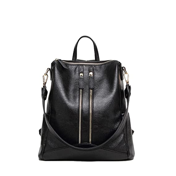 25408b517c Ladies Fashion PU Shoulder Bag Korean Version Of The Double Zipper Leisure  Travel Bag