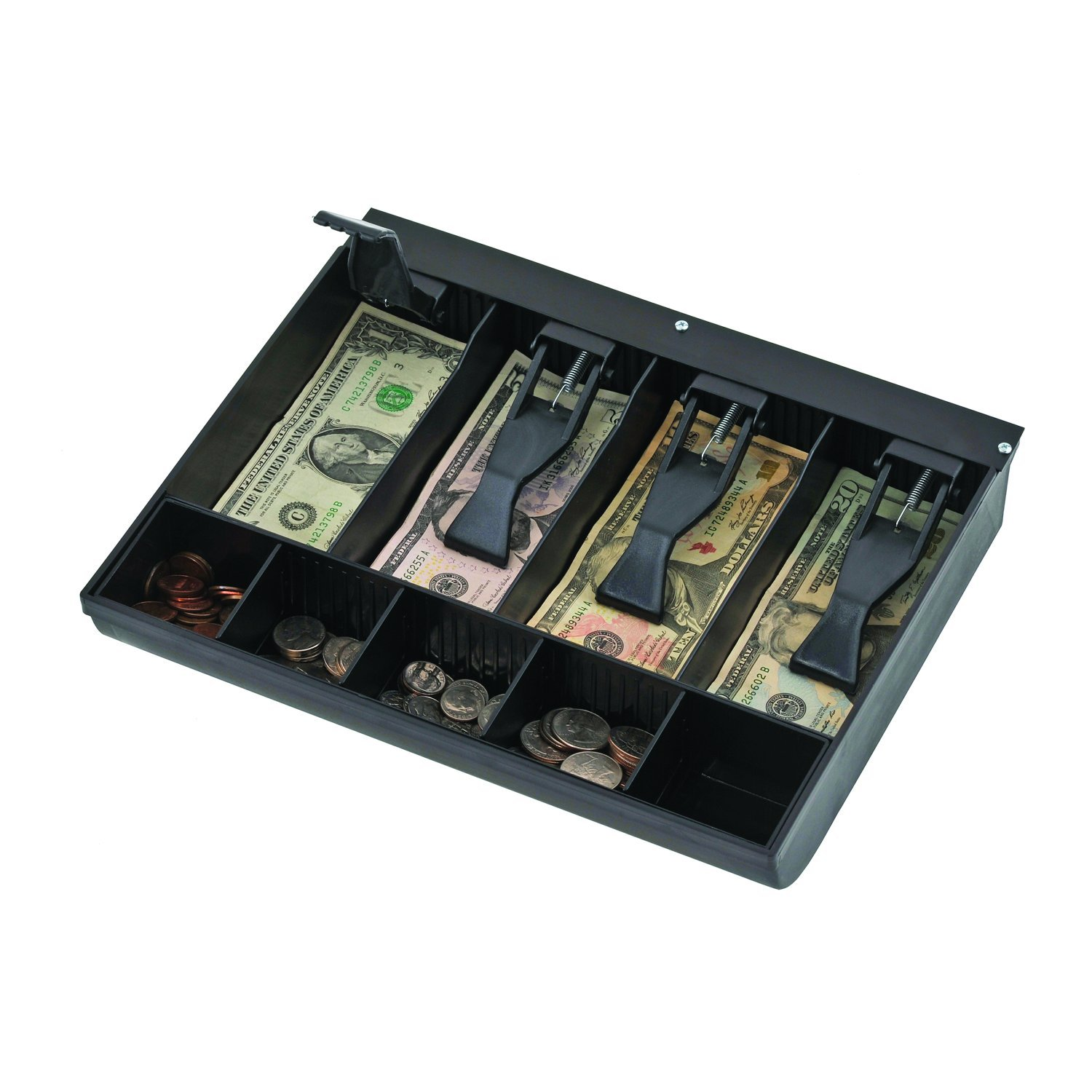 STEELMASTER 2.19 x 9.63 x 11.5 Inches, Replacement Cash Tray for Model 1046, Black (225284304) by MMF Industries (Image #1)