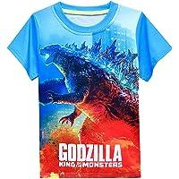 Godzilla vs Kong - Camiseta de manga corta con estampado en 3D