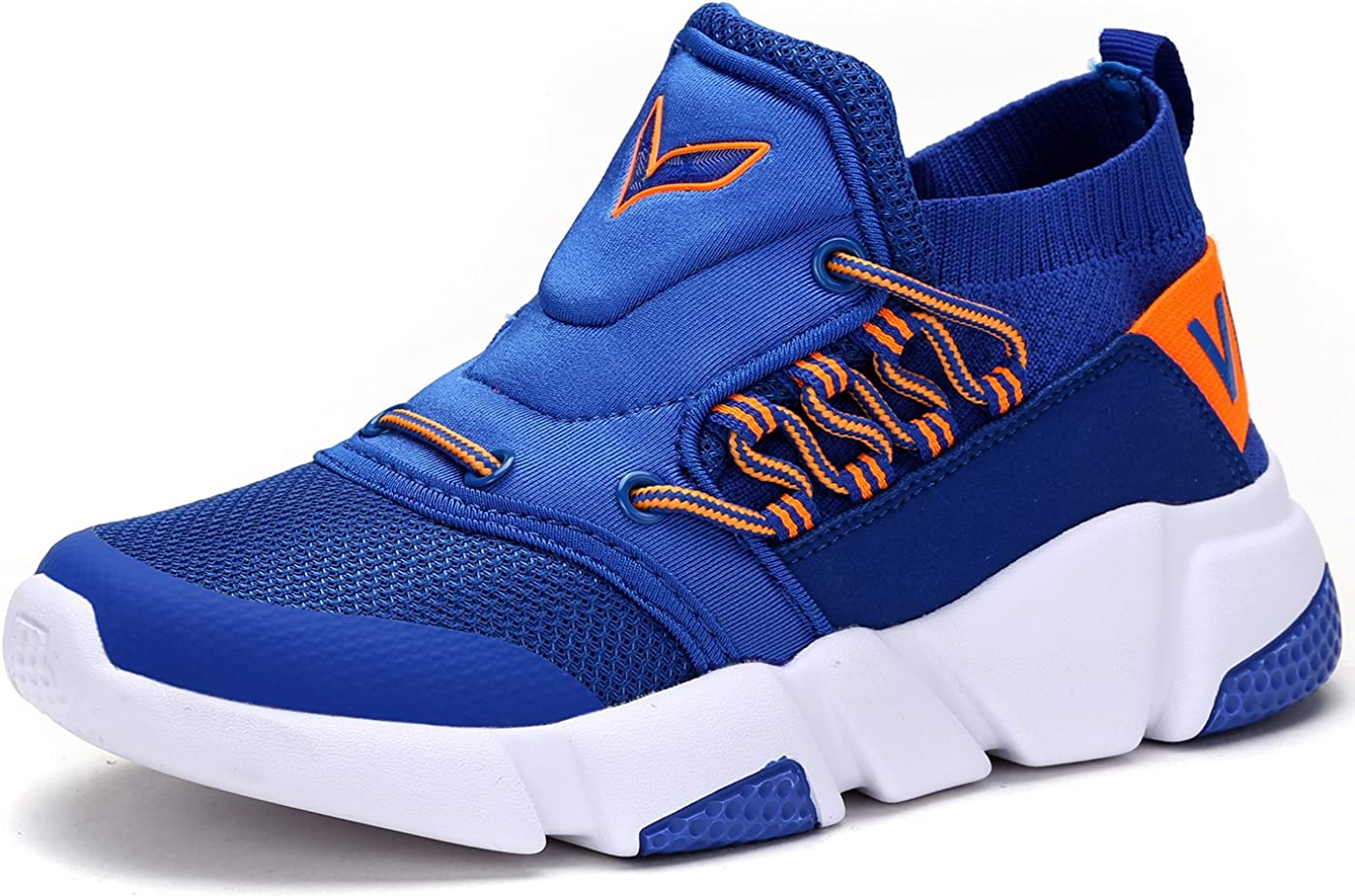 Boys Girls Mesh Sneaker Outdoor Athletic Slip on Casual Running Shoes Lightweight Sneakers