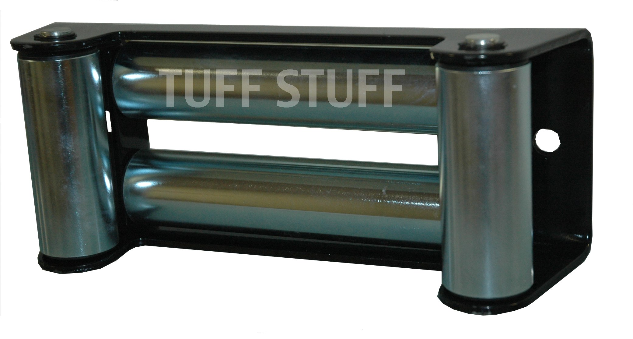 Tuff Stuff 4 Way Roller Fairlead Winch Cable, 10'' Bolt Pattern by Tuff Stuff