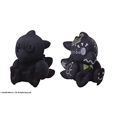 Square Enix Final Fantasy: Chocobo Autograph (Black Version) Plush: Toys & Games