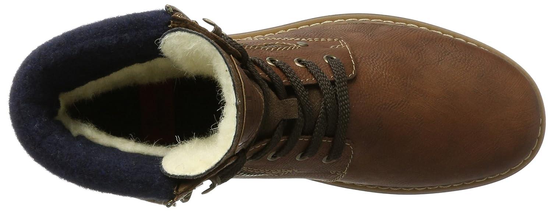 Rieker Braun Herren 37741 Klassische Stiefel Braun Rieker (Mandel/Cigar/Navy 24) e339e3