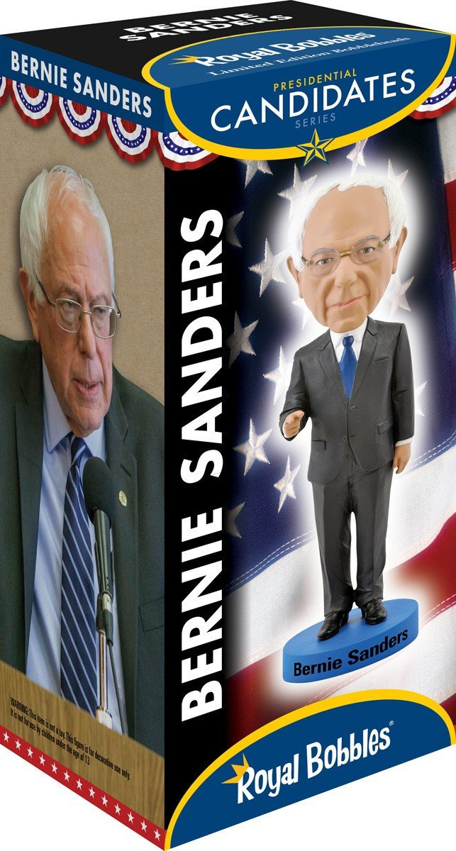 Amazon.com: Bernie Sanders Bobblehead: Toys & Games