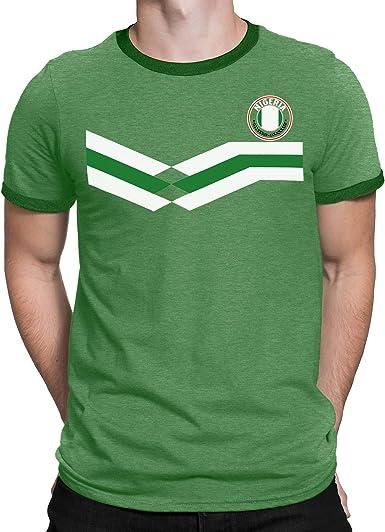Tee Spirit Nigeria Camiseta Para Hombre World Cup 2018 Fútbol New ...