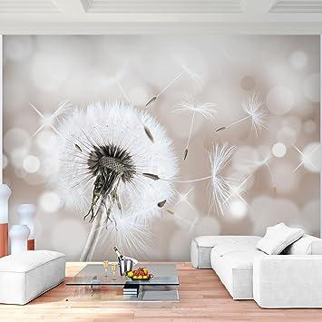 Fototapete Pusteblumen Beige 352 X 250 Cm Vlies Wand Tapete Wohnzimmer  Schlafzimmer Büro Flur Dekoration Wandbilder
