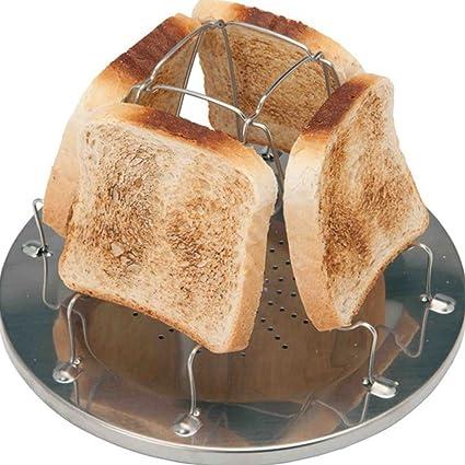 Folding Camp Stove Toaster - 4 Slice Toaster