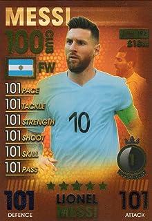 Match Attax 101 100 Club Ronaldo Messi Salah Kane van Dijk Mbappe Pick One