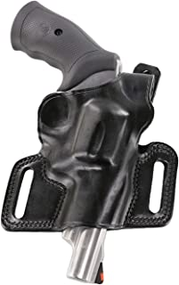 product image for Galco - Silhouette High Ride Belt Holster for Smith and Wesson, Ruger, and Taurus, Right Hand (Black) (SIL114B)