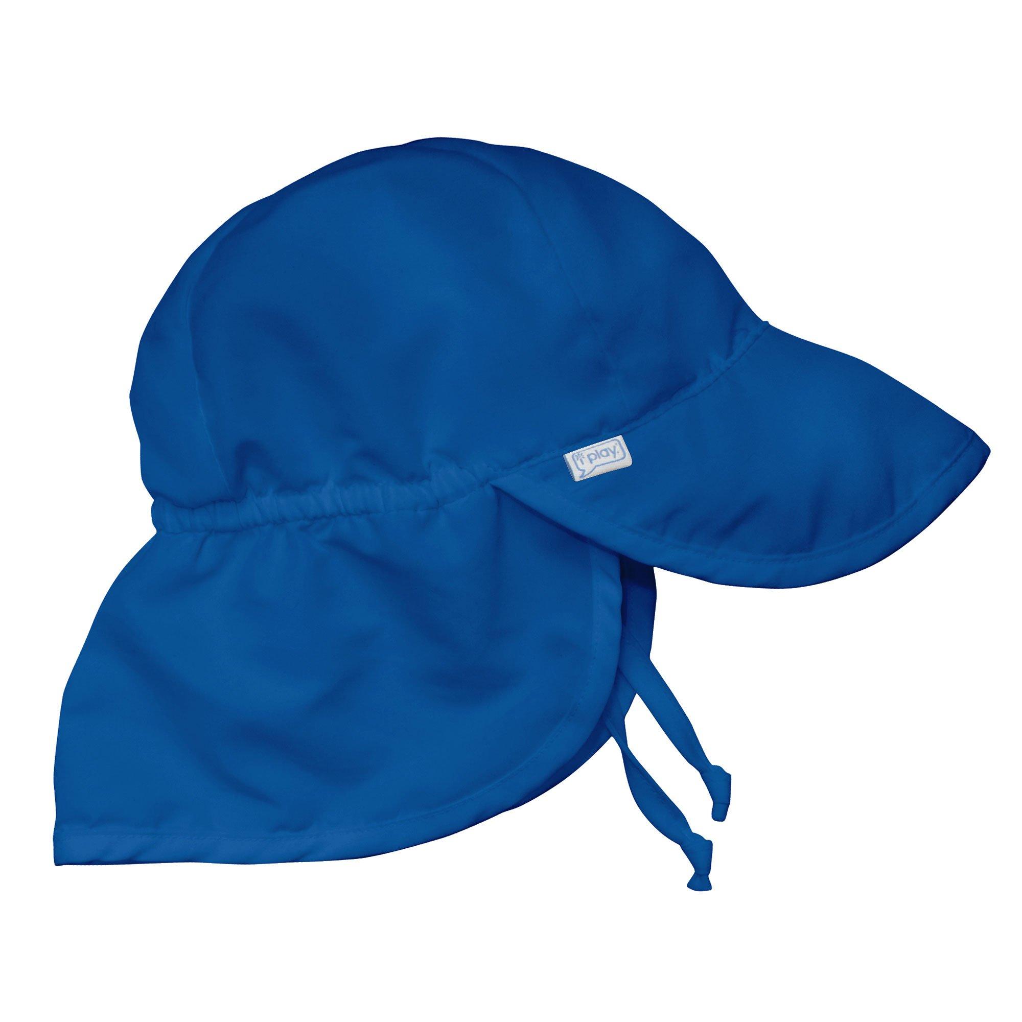 Iplay Flap Hat-Royal Blue-9/18mo by i play.