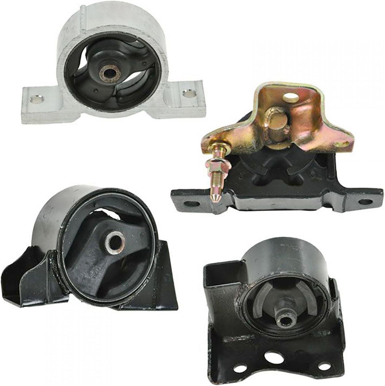 Full Kit Trans Engine /& Motor Mounts Kit G045 For 2000-2006 Nissan Sentra 1.8L