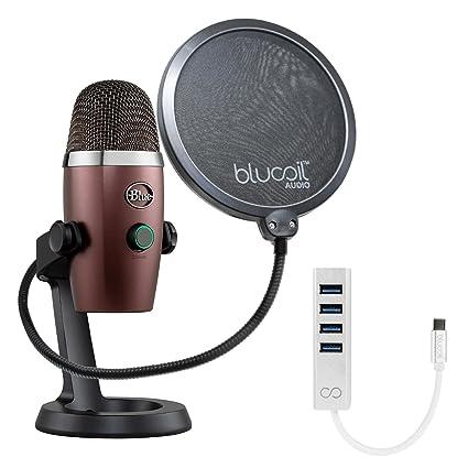 Amazon com: Blue Microphones Yeti Nano USB Mic for