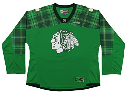 88765862 Reebok NHL Womens Chicago Blackhawks Artemi Panarin #72 Player Clover Jersey,  Large