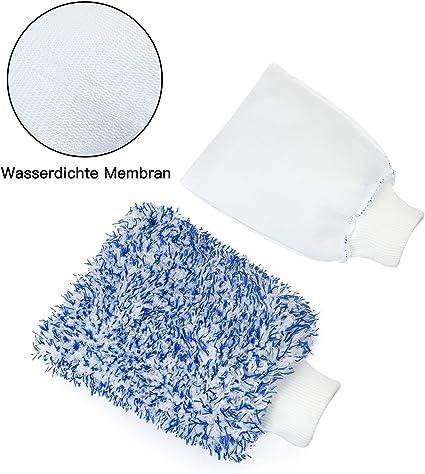 Bambud Gants Coral Fleece Microfibre Car Wash Soft Coral Gants de Lavage de Voiture 1PCS Cheveux Longs Lave-Auto Mitt Superfine Fibre Gant /étanche Color/é Gant de Lavage de Voiture Souple Bleu