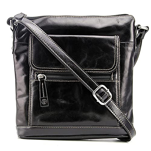 Amazon.com: Giani Bernini Glazed Xbody Bolso/monedero ~ en ...
