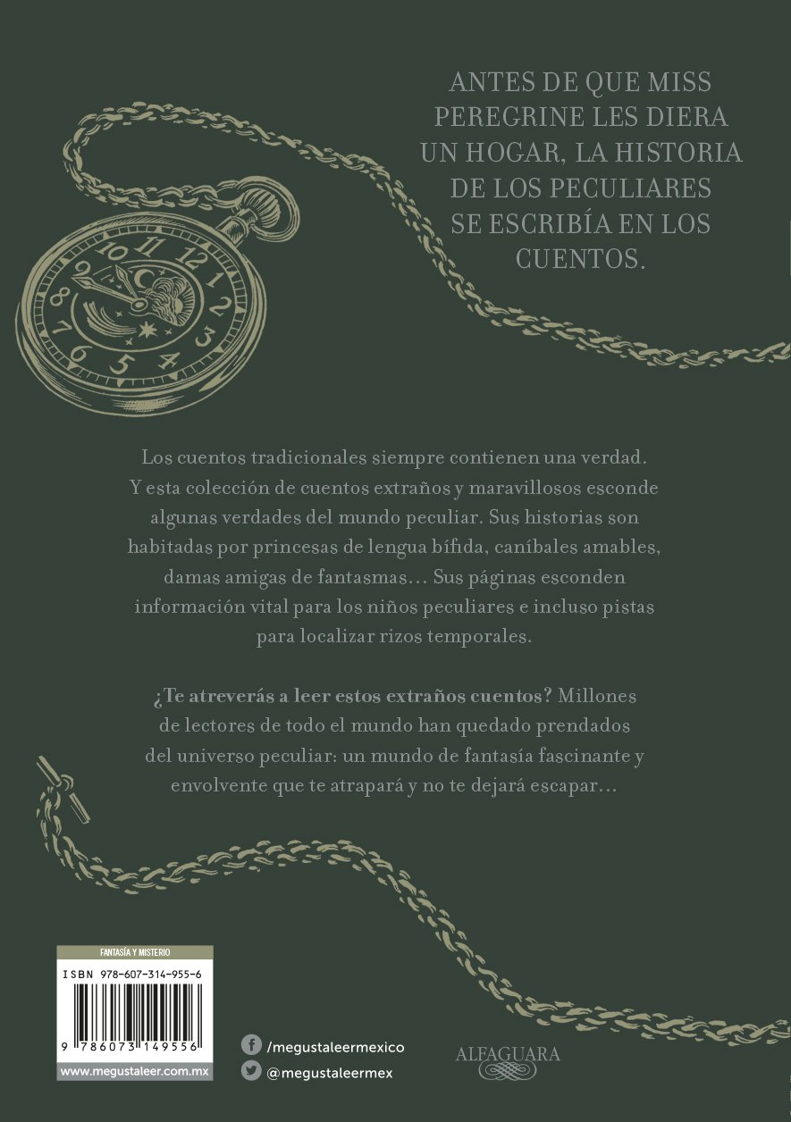 Amazon.com: Cuentos extraños para niños peculiares/ Tales of the Peculiar (Spanish Edition) (9786073149556): Ransom Riggs: Books