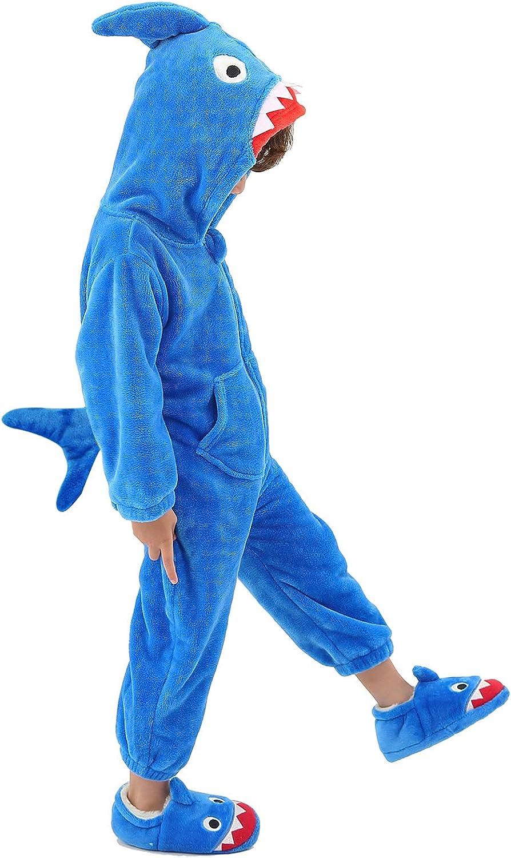 Boys' Girls' Costume Onesies One Piece Animal Pajamas for Kids Halloween Fancy Dress