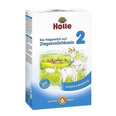 Holle Orgánica leche de cabra Based en leche 2 Pack de 4 x 400 ...