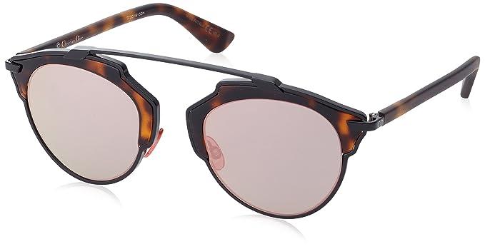 Dior DIORSOREAL 0J XO2 Gafas de Sol, Negro (Black Havana ...