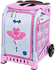 ZUCA Mini Rolling Bag with Built-in Seat for Kids Ages 4 and Up – Choose Your Design!