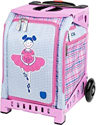ZUCA Mini Rolling Bag with Built-in Seat for Kids Ages 4 and Up –