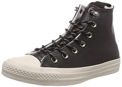 Converse Women s s Chuck Taylor All Star Hi-Top Trainers Black Driftwood  001 ... abb63983a43dd