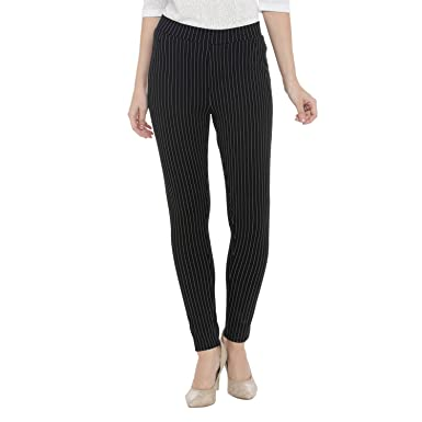 015d99e1fca468 Annabelle By Pantaloons Women's Jegging Pants (110040086006_Black_XX-Large)