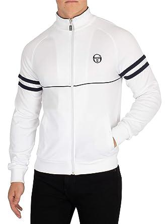d39efab6 Sergio Tacchini Star Track Top White 4XL: Amazon.co.uk: Clothing