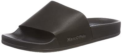 best service a9794 6fa0e Marc O'Polo Beach Sandal, Damen Pantoletten, Schwarz (Black ...