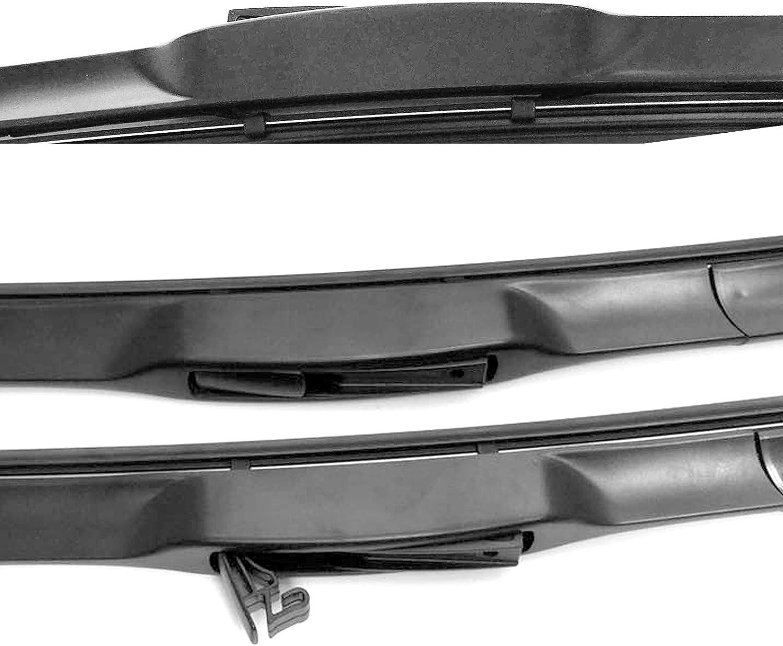 YARIS Windscreen Wiper Blades x 2 Front Set Fits to REG 2011 ONWARD