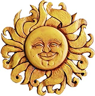 product image for Piazza Pisano Sun Face Wall Art Plaque