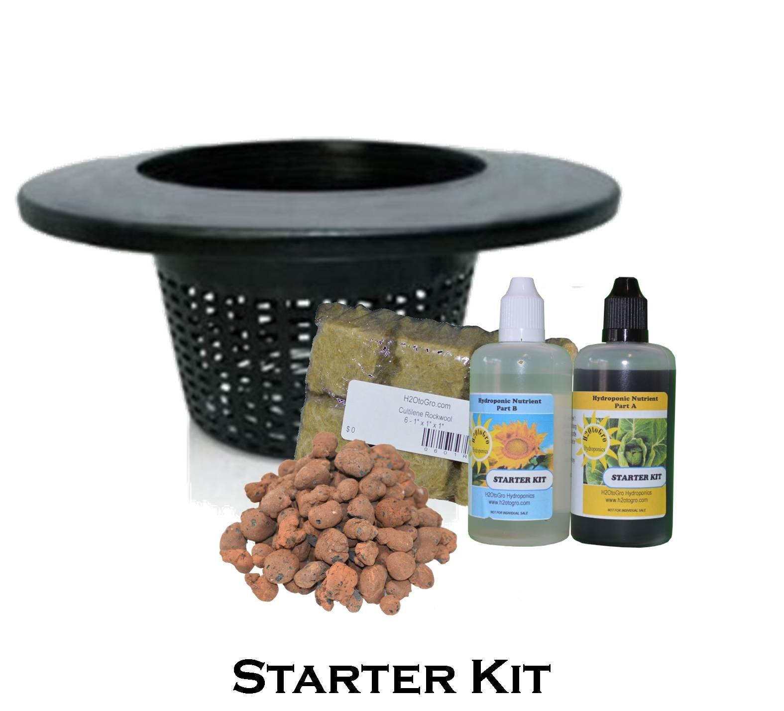 DWC 4-site Hydroponic Bucket BUBBLER Grow kit by H2OToGro (Image #3)