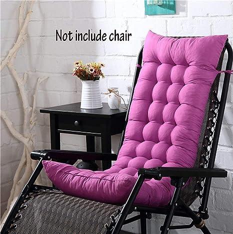 Cojín para silla de respaldo alto, para casa, oficina, viscoelástico, con botones, Morado claro, 128*48*8cm