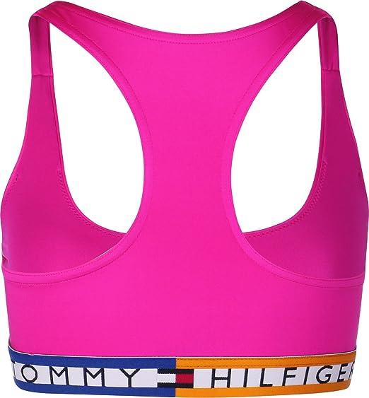 496e4ef9ad Tommy Hilfiger W Bikini top  Amazon.co.uk  Clothing