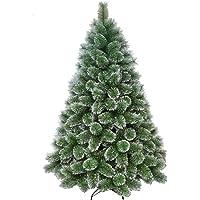 Árvore De Natal Verde Com Neve Luxo 1,20m 170 Galhos A0612m