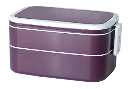 0ae40e20ed Buy Mulberry by Genmert Double Stack Bento Box with Handles ...
