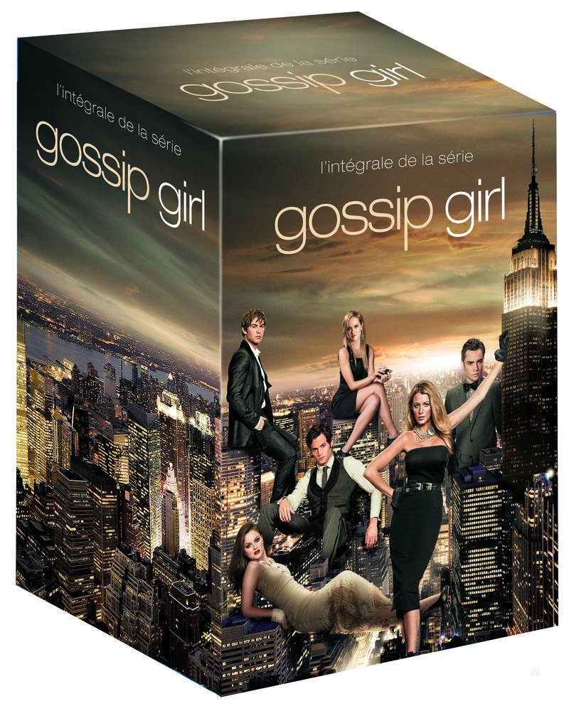 gossip girl l 39 int grale de la s rie saisons 1 6. Black Bedroom Furniture Sets. Home Design Ideas