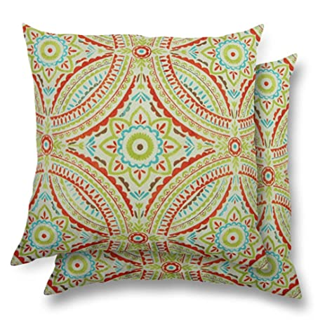 Stratford Home Eco Friendly Indoor / Outdoor Throw Pillows, Set Of 2  (Blissfulness)
