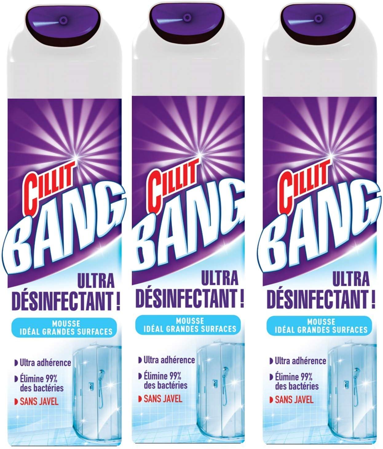 Cillit Bang espuma activa antibacterias 600 ml – – Juego de 3 ...