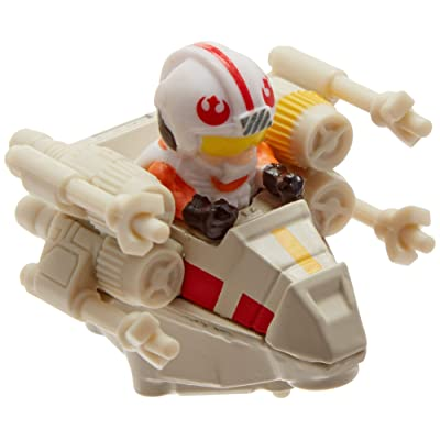 Hot Wheels Star Wars Battel Rollers Luke Skywalker Vehicle: Toys & Games