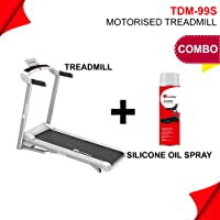 Powermax Fitness TDM-99S (1.5HP), Light Weight, Foldable Motorized Treadmill for Jogging & Running at Home