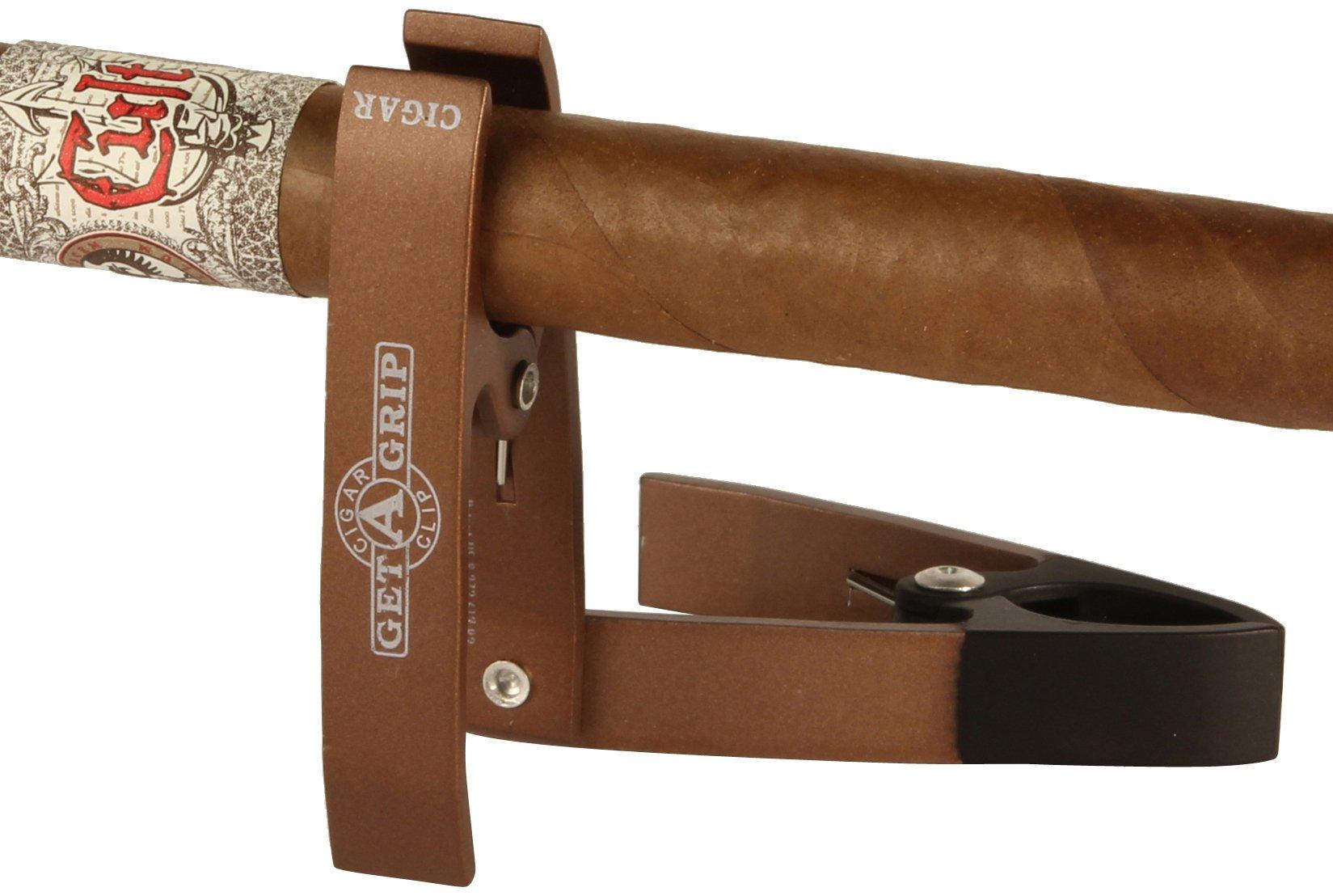Get-A-Grip Cigar Clip, Copper